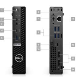 Dell Technologies V9KCV OPTI 5090 MFF I5-10500T 8/256 W10P