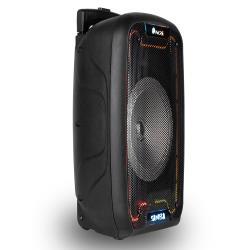 Altavoz ngs bluetooth wild samba portatil 30w con microfono con cable bateria y luces led micro usb usb aux