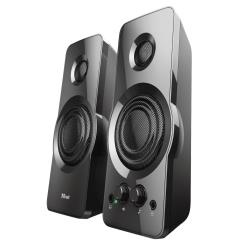 Altavoces trust orion 2.0 potencia maxima 36w estereo control de volumen y conexion auriculares usb color negro