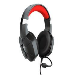 Auricular trust gaming gxt323 carus longitud cable 1,2 m con microfono conexion jack 3.5 mm color negro