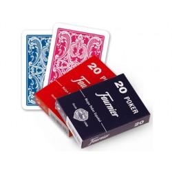 Baraja fournier poker español 20-54 578-20 54 C. - 21002