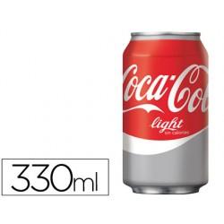 Refresco coca-cola light lata 330ml 50060-010625