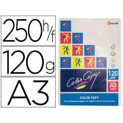Papel fotocopiadora color copy din a3 120 gramos paquete de 250