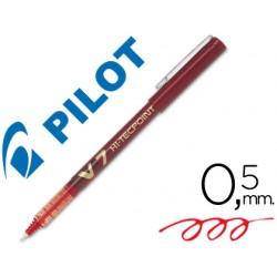 Rotulador pilot punta aguja v-7 rojo 0.7 mm 18428-V-7 R