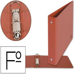 Carpeta de 2 anillas 25mm redondas liderpapel folio apaisado