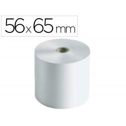Rollo sumadora electro 56 mm ancho x 65 mm diametro