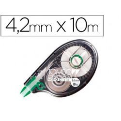 Corrector tombow cinta 4,2 mm x 10 mt en blister 58627-CTYT 4