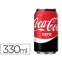 Refresco coca-cola zero lata 330ml 50061-054641