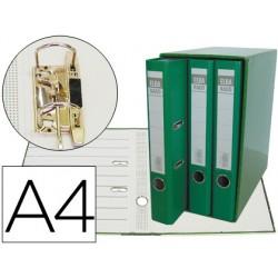 Modulo elba 3 archivadores de palanca din a4 2 anillas verde