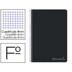 Cuaderno espiral liderpapel folio witty tapa dura 80h 75gr