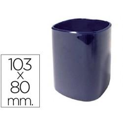 Cubilete portalapices 102-a plastico azul 103x80 mm 20349-102-A