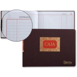 Libro miquelrius cuarto -apaisado -100 hojas -caja -entrada y