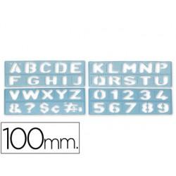 Plantilla rotulacion 1800 -letras y numeros de 100 mm 17906-1800