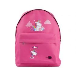 Cartera escolar liderpapel mochila unicornio color rosa