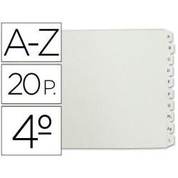Separador alfabetico multifin plastico 3003 14471-4635301