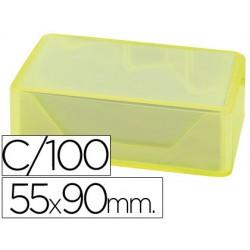 Fichero fichas tela verde 1000 fichas n.2 -tamaño 75x125 mm