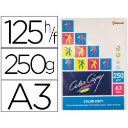 Papel fotocopiadora color copy din a3 250 gramos paquete de 125