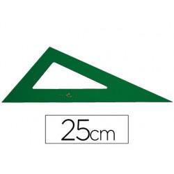 Cartabon faber 25 cm plastico verde 1584-666/25 CM