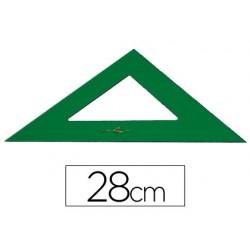 Escuadra faber 28 cm plastico verde 2874-566/28