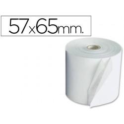 Rollo sumadora electro 57 mm ancho x 65 mm diametro -copiativo