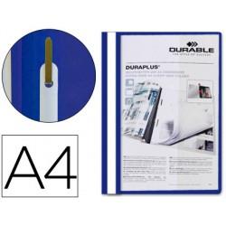 Carpeta duraplus din a4 con fastener azul durable 39872-2579-06