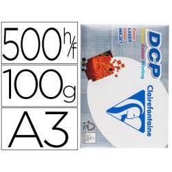 Papel fotocopiadora clairefontaine din a3 100 gramos paquete de