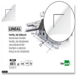 Papel dibujo liderpapel 210x297mm 150g/m2 con cajetin 16795-PH04