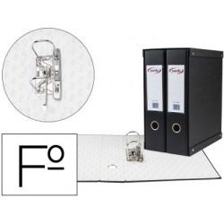 Modulo pardo 2 archivadores de palanca folio 2 anillas de 70 mm