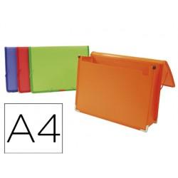 Carpeta liderpapel portadocumentos polipropileno din a4 colores