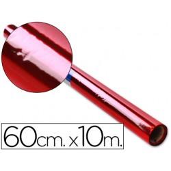 Papel celofan liderpapel rollo rojo -0,60 x 10 mt 20686-CL22