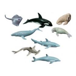 Juego miniland animales marinos 8 figuras 68465-27460