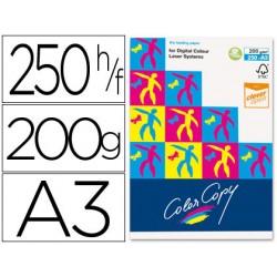Papel fotocopiadora color copy din a3 200 gramos paquete de 250