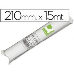 Rollo papel fax q-connect 210 mm x 15 mt 20333-KF50106