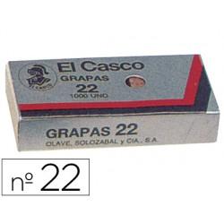 Grapas el casco 22 -caja de 1000 3739-22