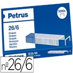 Grapas petrus nº 26/6 -caja de 5000 17802-55712