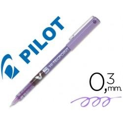Rotulador pilot punta aguja v-5 violeta 0.5 mm 20664-V-5 VI