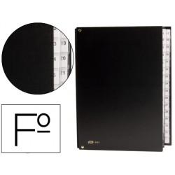 Carpeta clasificador carton compacto pardo folio 31