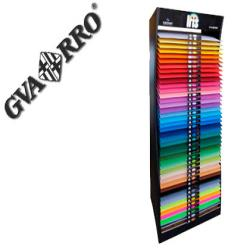 Expositor guarro metalico vacio 42 estantes para iris 50x65 cm