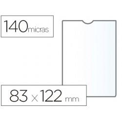 Funda portadocumento esselte plastico transparente 140 micras