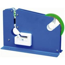 Maquina q-connect cierra bolsa metalica pintada azul