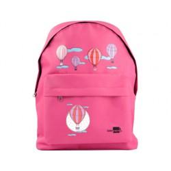 Cartera escolar liderpapel mochila globos color rosa
