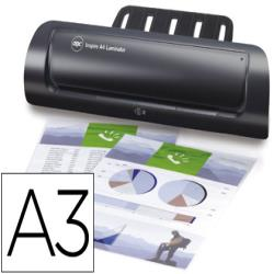 Plastificadora inspire formato a-3 2 rodillos hasta 80 micras