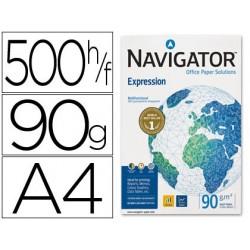 Papel fotocopiadora navigator din a4 90 gramos paquete de 500