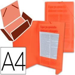 Carpeta liderpapel gomas solapas 34960 polipropileno din a4