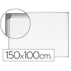 Pizarra blanca bi-office earth-it magnetica de acero