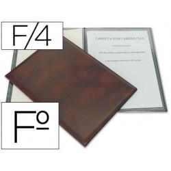 Porta menus folio 86 4 fundas 19483-86
