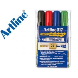Rotulador artline pizarra ek-517 4 -punta redonda 2 mm -bolsa