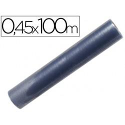 Rollo plastico forralibros 0,45x100 mt 7170-RL02