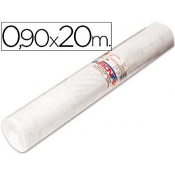 Rollo adhesivo aironfix unicolor transparente 67001 -rollo de