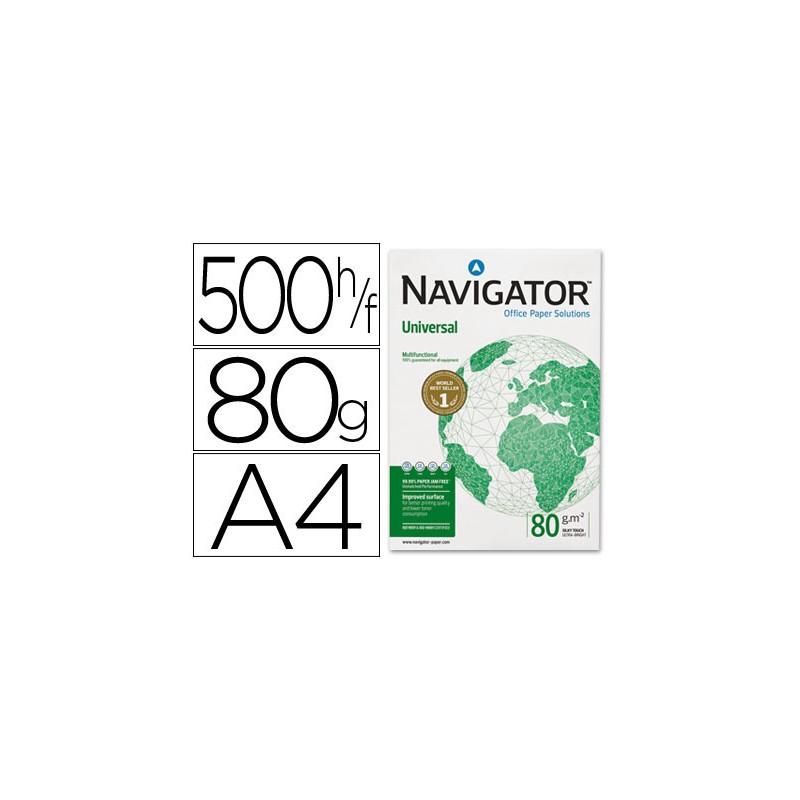 Papel fotocopiadora navigator din a4 80 gramos -paquete de 500